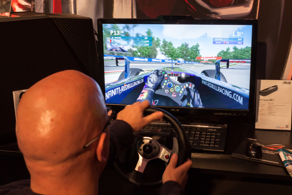 Der Monitor mit schnellen 240 Hertz ist vor allem für Gamer interessant
