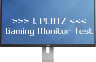 Platz 1 beim Gaming Monitor Test